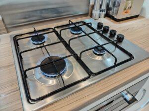 Neff-Slide-&-Hide-Oven-cleaning-Doncaster-hob-flames